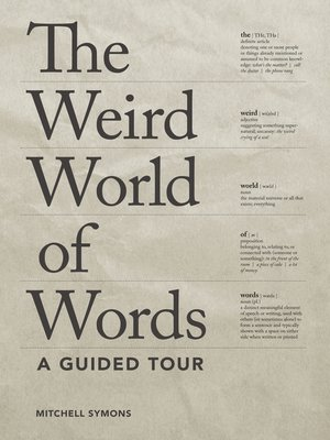 cover image of The Weird World of Words