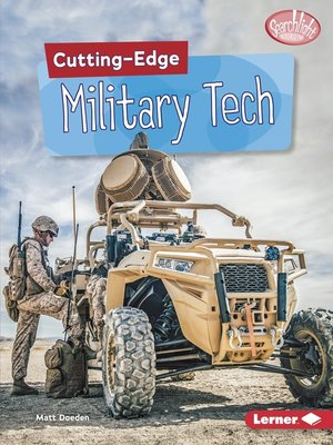cover image of Cutting-Edge Military Tech