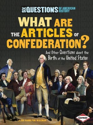cover image of What Are the Articles of Confederation?