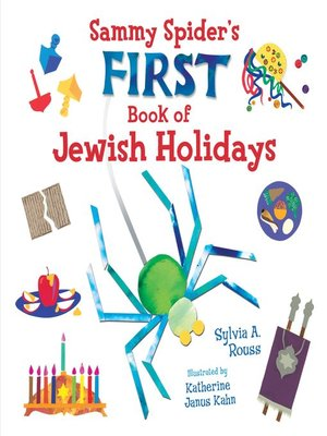 cover image of Sammy Spider's First Book of Jewish Holidays