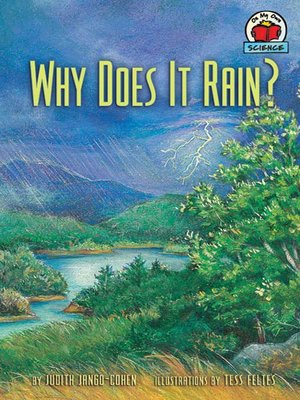cover image of Why Does It Rain?