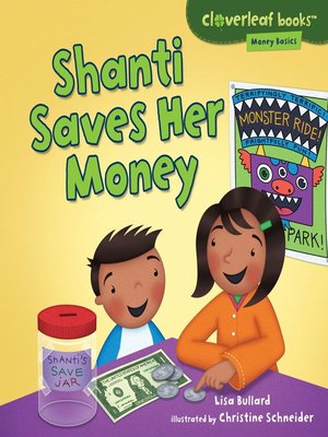 cover image of Shanti Saves Her Money