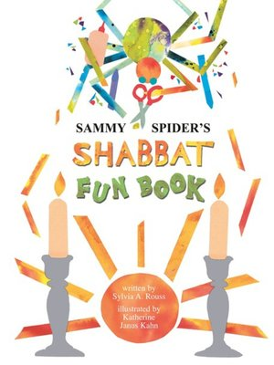 cover image of Sammy Spider's Shabbat Fun Book