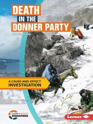 cover image of Death in the Donner Party