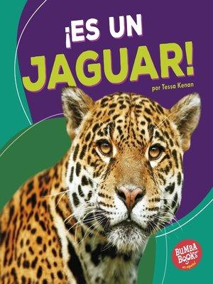 cover image of ¡Es un jaguar! (It's a Jaguar!)