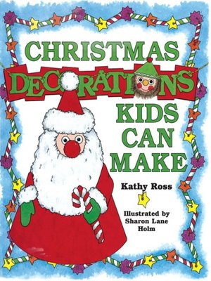 cover image of Christmas Decorations Kids Can Make