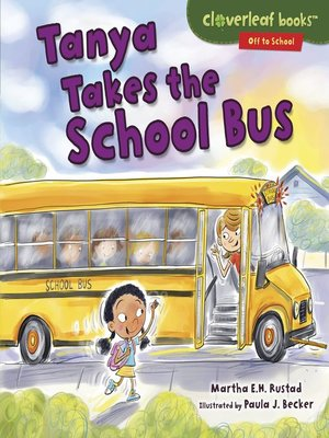 cover image of Tanya Takes the School Bus