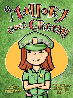 cover image of Mallory Goes Green!