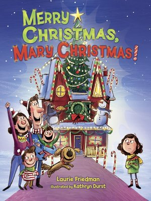 cover image of Merry Christmas, Mary Christmas!