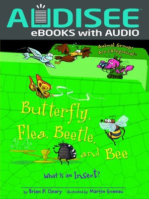 cover image of Butterfly, Flea, Beetle, and Bee