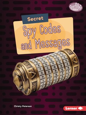 cover image of Secret Spy Codes and Messages