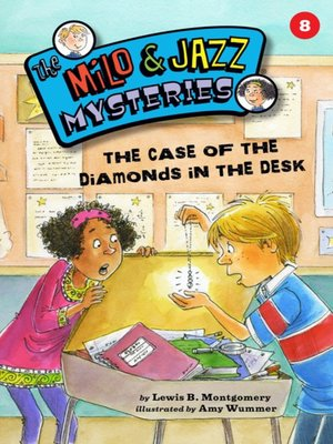 cover image of The Case of the Diamonds in the Desk