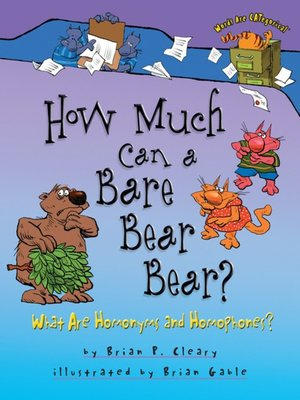 cover image of How Much Can a Bare Bear Bear?