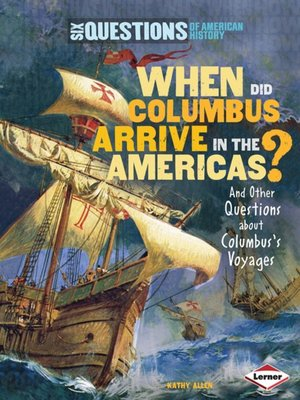 cover image of When Did Columbus Arrive in the Americas?