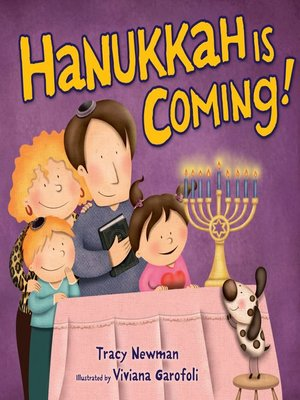 cover image of Hanukkah Is Coming!