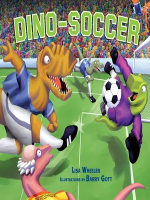 cover image of Dino-Soccer