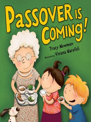 cover image of Passover Is Coming!