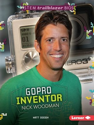 cover image of GoPro Inventor Nick Woodman