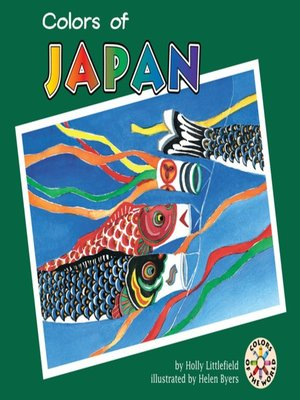 cover image of Colors of Japan