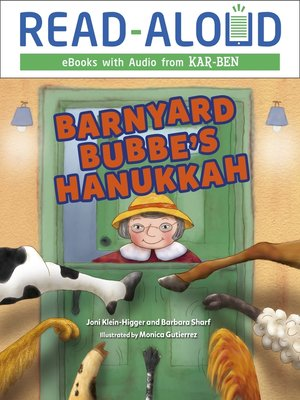 cover image of Barnyard Bubbe's Hanukkah