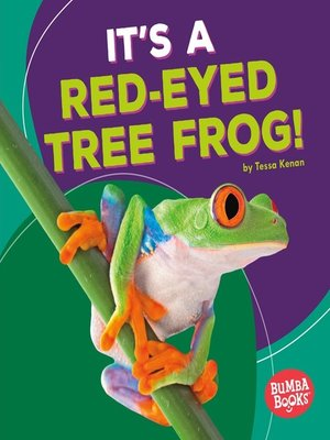 cover image of It's a Red-Eyed Tree Frog!