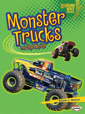 cover image of Monster Trucks on the Move