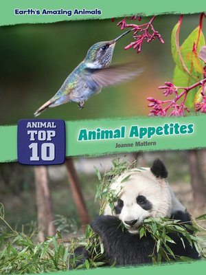 cover image of Animal Appetites