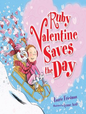 cover image of Ruby Valentine Saves the Day