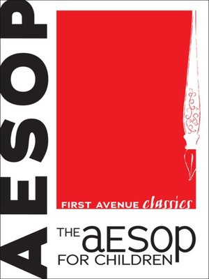 cover image of The Aesop for Children