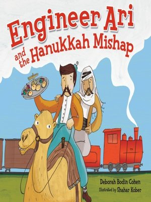 cover image of Engineer Ari and the Hanukkah Mishap
