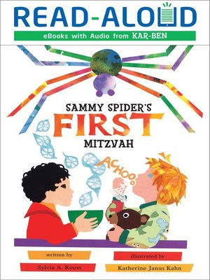 cover image of Sammy Spider's First Mitzvah