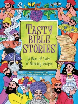 cover image of Tasty Bible Stories