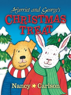 cover image of Harriet and George's Christmas Treat