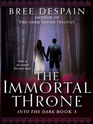 cover image of The Immortal Throne