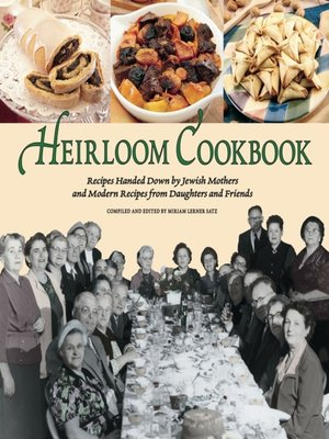 cover image of Heirloom Cookbook