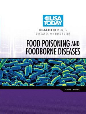 cover image of Food Poisoning and Foodborne Diseases