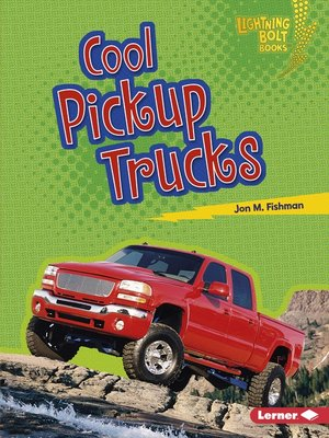 cover image of Cool Pickup Trucks