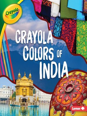 cover image of Crayola ® Colors of India