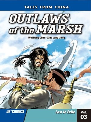 cover image of Outlaws of the Marsh, Volume 3