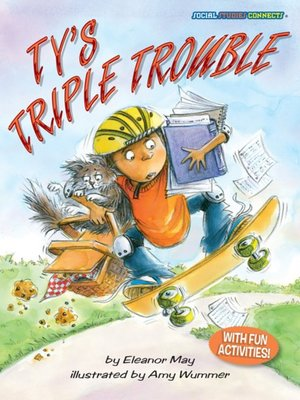 cover image of Ty's Triple Trouble