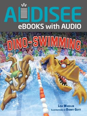 cover image of Dino-Swimming
