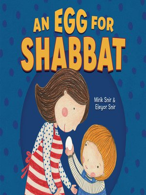 cover image of An Egg for Shabbat