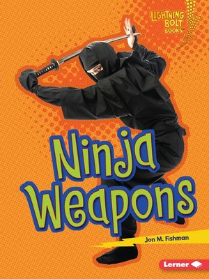cover image of Ninja Weapons