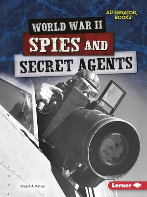 cover image of World War II Spies and Secret Agents