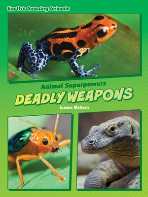 cover image of Deadly Weapons