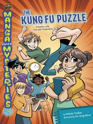 cover image of The Kung Fu Puzzle: A Mystery with Whole Numbers