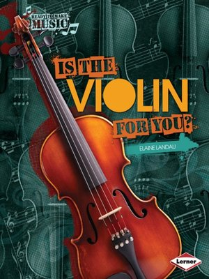 cover image of Is the Violin for You?