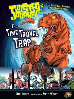 cover image of #06 The Time Travel Trap