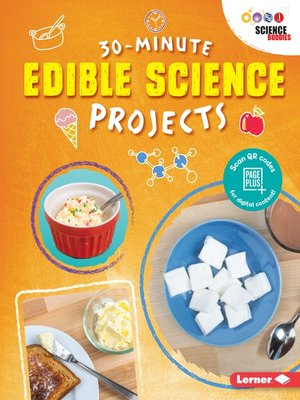cover image of 30-Minute Edible Science Projects