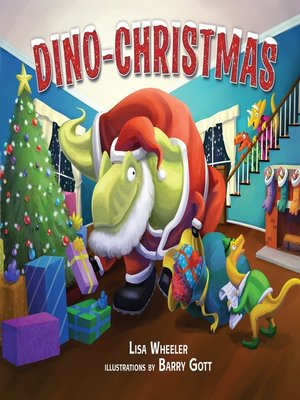 cover image of Dino-Christmas
